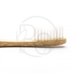 Зубная щетка бамбуковая Humble Brush Adult белая, мягкая щетина