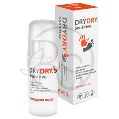 Антиперспирант Dry Dry Sensitive Roll-on, 50 ml