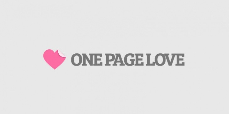 Onepagelove.com: Inspiration for Landing Page Developer