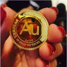 One Coin. Aurum Gold Coin.